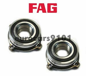 BMW 535xi FAG (2) Rear Wheel Bearing and Hub Assemblies 33411095238 580494C