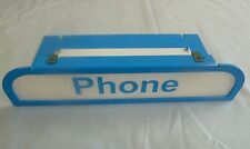 New Blue List 31 Armored Payphone Enclosure Pay Phone Lens for Payphones Booth