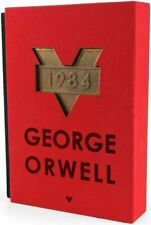 1984 - Special Collector's Red Edition - VERY RARE - Turkish Novel - G ORWELL