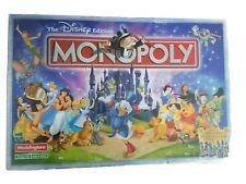Monopoly - The Disney Edition 2001 - Rare & Includes 8 Classic Disney Tokens