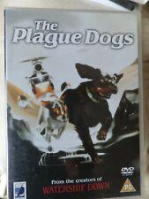 PLAGUE DOGS Anchor Bay DVD 1982 John Hurt, James Bolam