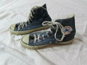 Vtg 80s USA Made Converse All Star Shoes Sz 6 Chuck Taylor Extra Stitch