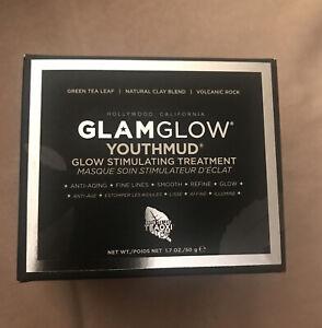 GLAMGLOW Youthmud Glow Stimulating Treatment 1.7oz/50g NIB