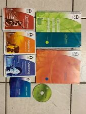 Leapfrog Fly Fusion Accessories-Notebooks, Writing, Algebra, Music, Math -CD's