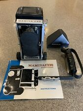 Vintage Mamiya C33 Professional Camera, Handle & Porroflex