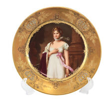 Royal Vienna Porcelain Hand Painted Cabinet Plate Queen Louise of Prussia 19th C