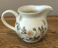 Vintage M&S Ceramic Jug Autumn Leaves 12cm. Oven To Tableware.