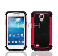 Impact Hybrid Shock Proof Case Cover For Samsung Galaxy S4 Mini i9190 - Hot Pink