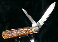 Remington R23 Knife Barehead Trapper Great Walk & Talk Chipped Handles Collector