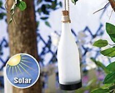"""SOLAR LED LAMPE """"FLASCHENPOST"""" LEUCHTFLASCHE - NEU"""