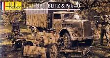 Heller CAMION Opel Blitz+Pak40 Pak 40 German Army Truck modèle-kit 1:72 NEUF kit