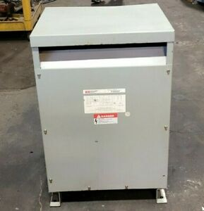 FEDERAL PACIFIC 30 KVA DRY TYPE TRANSFORMER HV 480 LV 208Y/120 3 PHASE T4T30