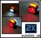 1 paire de 11 LED SMD côté arrière contour 24V FEUX DE POSITION SHASSIS