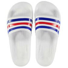 Adidas Sliders Sandals Shoes Slip Ons Sports Beach Pool White Prematch Flip Flop