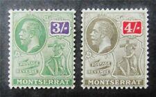 nystamps British Montserrat Stamp # 72,73 Mint OG H $38 M5y574