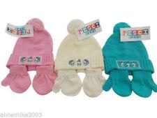 Cappelli e berretti rosa in maglia per bimbi