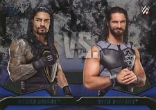 #2 ROMAN REIGNS vs SETH ROLLINS 2016 Topps WWE Then Now Forever WWE RIVALRIES
