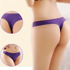 Women's Seamless Thongs G-string Briefs Panties Lingerie Underwear Knickers New