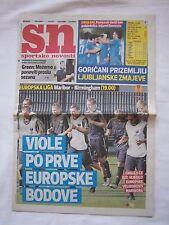 Orig.PRG   Europa League   2011/12   NK MARIBOR - BIRMINGHAM CITY // Edition A !