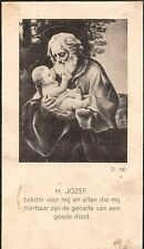 "Sterbebild Heiligenbild Gebetbild Andachtsbild"" Holy card "" H1920"" Hl Jozef"