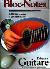 Méthode guitare+CD Rom - Bloc notes - Guitare folk et classique en classeur