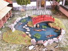 28mn Large Samurai Pond Test of Honour, kensii ETC wargaming tabletop terrain