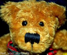 Künstlerteddy  Bär Teddy hell braun Sunkid flausch 19 cm   iNr969