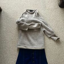 Derek Lam Double Layer Chunky Sweater Super Warm And Stylish