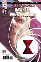 Tales of Suspense Hawkeye & Winter Soldier #101 Marvel Comic 2018 1st print NM