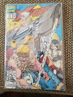 X-Force (5) Comic Book Lot (1992, Marvel) Rob Liefeld art featuring 1st Domino