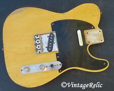 aged RELIC nitro 1P Ash 50s TELE Telecaster loaded body Fender Custom Shop pups