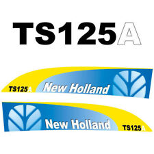 New Holland TS125A tractor decal aufkleber adesivo sticker set