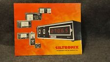 Rare Siltronix Cb / Ham Radio Accessories Dealer Brochure Literature