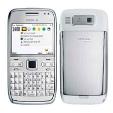 Original Nokia E72 3G Bluetooth Unlocked 5MP Camera GPS WIFI White Mobile Phone
