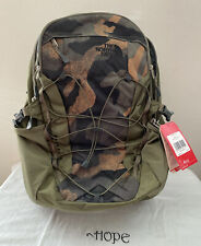 The North Face Classic Borealis Backpack 15'' Laptop TNF Bag Black/Camo Green❤️