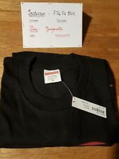 supreme Fuck Love HEART tee black size M fw17 t-shirt