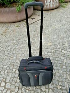 Wenger Business Trolley Reisekoffer // Farbe schwarz /grau TOP!!!!!!!!!!!