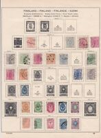 finland early used stamps ref r9063