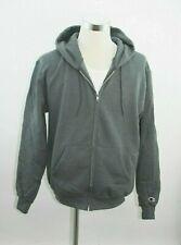 Grey Champion Men's Full-zip Eco Fleece Hoodie Jacket - Size Adult Medium