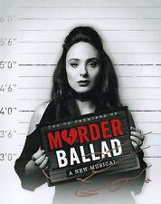 VICTORIA HAMILTON - Signed 10x8 Photograph - TV & THEATRE - MURDER BALLAD
