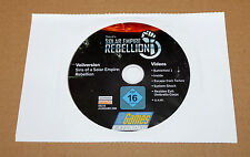 PC GAMES DVD Sins of a Solar Empire Rebellion Resident Evil Battlefield Video