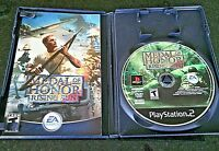 PS2 Medal of Honor Rising Sun Sony PlayStation Game Video Manual EA Games 2003