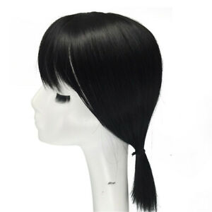 Women Hair Piece Replacement Top Synthetic Hair Topper With Bang Topper Hair