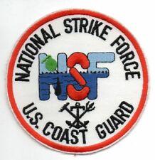 US Coast Guard NSF National STRIKE Force Patch