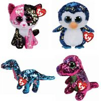"""Ty Beanie Boo Flippables - Choose Your Favourite Character - 6"""" inc (15 cm)"""