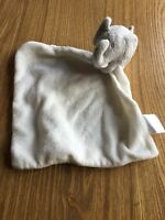 THE LITTLE WHITE COMPANY GREY ELEPHANT BABY COMFORTER BLANKIE BLANKET SOOTHER