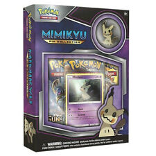 Nintendo Pokémon Trading Card Game Mimikyu Pin Collection Set with cards