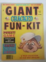 CRACKED MAGAZINE GIANT FUN-KIT March 1980 VINTAGE HUMOR CLASSIC!