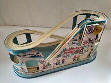1940s 1950s J. Chein & Company Ski-Ride Tin Toy Nice w/Original Box No Skier