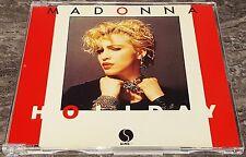 Madonna Holiday / Lucky Star German Yellow CD Single 1984 Sire 7599 20176-2